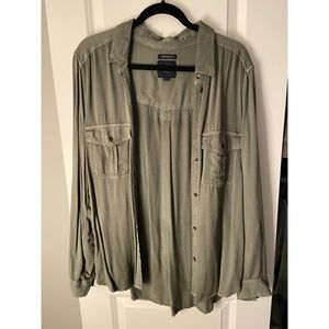 American Eagle Boyfriend Fit Shirt